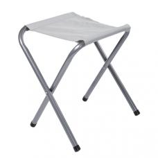 Cтул складной, с алюминиевой рамой, сиденье - брезент, M09528/8651