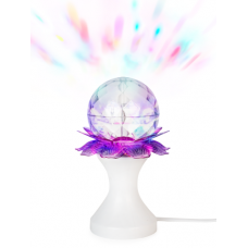 Светильник настольный ЛОТОС (2 РЯДА), вращающийся, светодиодный