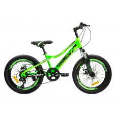 """Велосипед горный """"ROUSH"""" 20MD220-3 зеленый"""