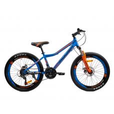Велосипед горный ROUSH 24MD240-1 синий матовый