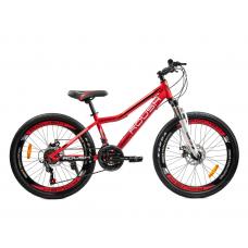 Велосипед горный ROUSH 24MD240-2 красный