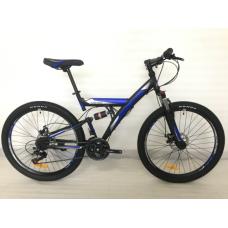 """Велосипед горный ROUSH 26"""" синий матовый"""