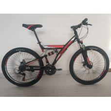 """Велосипед горный ROUSH 26"""" красный матовый"""