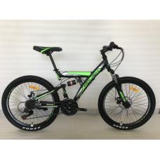 """Велосипед горный ROUSH 26"""" зеленый матовый"""