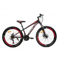 Велосипед горный ROUSH 26MD200-2 красный матовый