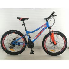 Велосипед горный ROUSH 26MD220-1 синий матовый