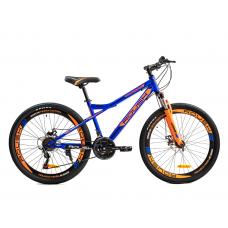 Велосипед горный ROUSH 26MD260-1 синий матовый
