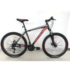 Велосипед горный ROUSH 27MD210-2 красный матовый